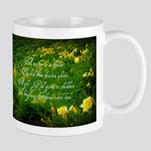 Mother is a Flower Mug